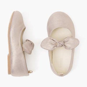 Gymboree Metallic Bow-Tie Ballet Flats